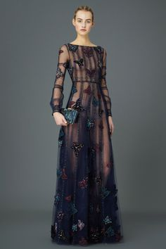 Maartje Verhoef for Valentino Pre-Fall 2015