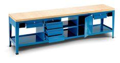 Banco da lavoro serie work garage pinterest banco da for Piani di garage rv con officina
