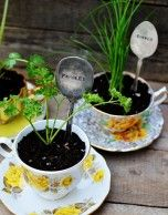 Cute idea and instructions on how to make the spoon markers
