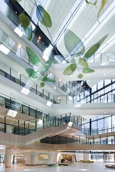 Illumination!  Atrium instaltion - Royal Childrens Hospital, VIC by Bates Smart