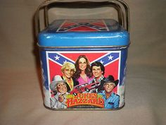VINTAGE DUKES OF HAZARD LUNCH PAIL - 1981