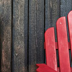 vertical, rough-sawn Western red cedar siding, takes paints and stains easily (Southern Living)