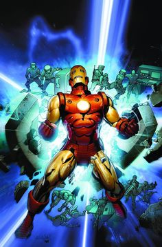#Iron #Man #Fan #Art. (Iron Man Legacy #1 variant cover) By: Salvador Larroca.