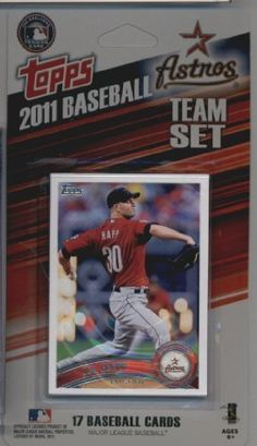 2011 Topps Limited Edition Houston Astros Baseball Card Team Set (17 Cards) - Not Available In Packs!! by Topps. $2.98. 2011 Topps Limited Edition Houston Astros Baseball Card Team Set (17 Cards) - Not Available In Packs!!. Save 50%!