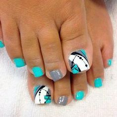 Nagellack kunst Best Toe Nail Art Ideas for Summer 2018 ❤ Abstracted Toe Nail Designs picture 1 ❤ To Pretty Toe Nails, Cute Toe Nails, Diy Nails, Neon Toe Nails, Pretty Toes, Glitter Nails, Toe Nail Color, Toe Nail Art, Nail Colors