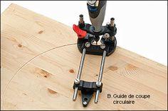 Base plongeante Veritas® pour outils rotatifs - Lee Valley Tools