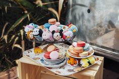 Tsum Tsums + Macarons = The Perfect Combination | Fashion | Disney Style