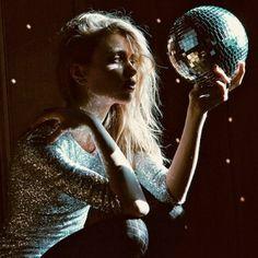 glitter, sequins & a disco ball. #nye inspiration.