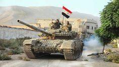 Syrian Army T-72 near Aleppo