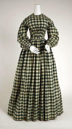 Dress, ca. 1860?