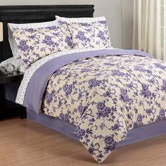 Juliana Bed in a Bag Lavender Bedding, Bed In A Bag, Quilt Bedding, Bed Spreads, Comforters, Room Ideas, Quilts, Blanket, Bedroom