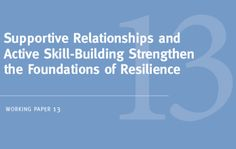 Science tells us that some children develop resilience, or the ability to overcome serious hardship, while others do not. Understanding why is crucial.