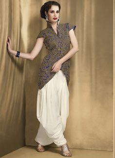 party wear patiala suit designs - Google Search