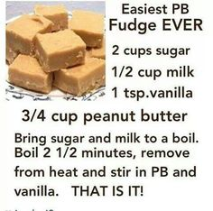 Easy Pb fudge