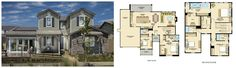 Larkspur Residence 2 Floorplan. Irvine. Beacon Park. Orange County. New Home. Real Estate.