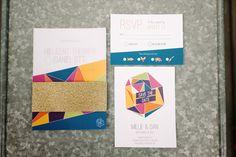 Wedding invitations, graphic design for Millie´s Wedding :)
