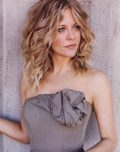 Meg Ryan love her hair color