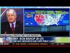Bishop Addresses Document Showing Plot for Federal Land Grab