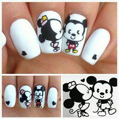 Mickey and Mini