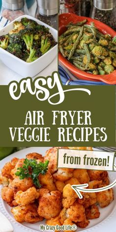 Easy Air Fryer Veggie Recipes
