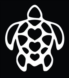 3 Heart turtle tattoo. One heart for each kid. Maybe with names in the hearts?