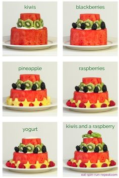 make a watermelon cake - Eat-Spin-Run-Repe.How to make a watermelon cake - Eat-Spin-Run-Repe.to make a watermelon cake - Eat-Spin-Run-Repe.How to make a watermelon cake - Eat-Spin-Run-Repe. Fruit Recipes, Whole Food Recipes, Cake Recipes, Healthy Recipes, Healthy Cake, Healthy Food, Dessert Recipes, Dessert Party, Snacks Für Party