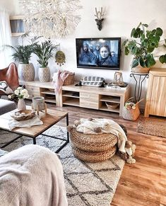 New Stylish Bohemian Home Decor and Design Ideas New Stylish Bohem. - New Stylish Bohemian Home Decor and Design Ideas New Stylish Bohemian Home Decor and - Interior Design Living Room Warm, Room Interior, Living Room Designs, Boho Living Room, Living Room Decor, Barn Living, Bohemian Living, Living Room Carpet, Country Living