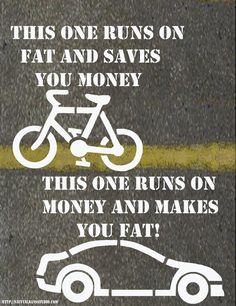bike to work:-)