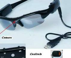 Our 720P Remote control Video Sunglasses, same great style and features as our 720P models with key chain remote control included.  $129.99 CAD www.vsun.ca, we ship anywhere!
