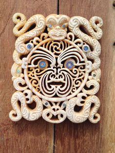Rangi Wills Bonecarving