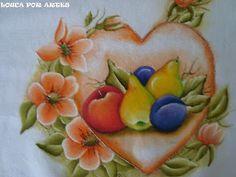 Louca por Artes: PINTURA EM TECIDO