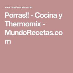Porras!! - Cocina y Thermomix - MundoRecetas.com