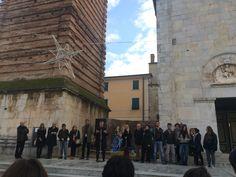 Inaugurazione presepe liceo artistico Pietrasanta - dicembre 2015
