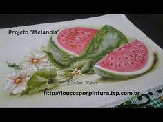 Como pintar melancia passo a passo | Cantinho do Video