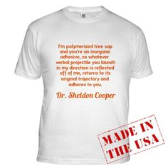 Big Bang Theory Funny Fitted T-Shirt by CafePress