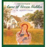 Anne of Green Gables: the complete boxed set!  I read these books over and over again when I was little... and over and over again in college, grad school, pregnancies, and I'm STILL reading them over and over :0)
