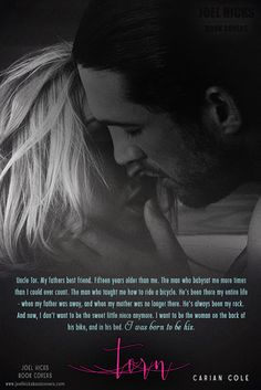 Books,Chocolate and Lipgloss: ❤❤ COVER REVEAL + EXCERPT- TORN by Carian Cole ❤❤