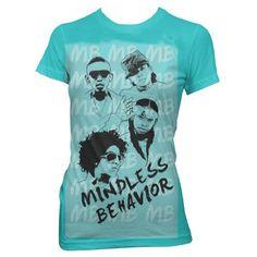 Mindless Behavior Headshots T-Shirt $19.99   ~ MOMMY I WANT IT :) ~