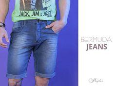 As bermudas jeans farão sucesso nesse verão 2016! Vem ver conosco, rapazes!