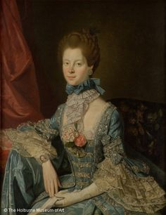 Charlotte of Mecklenburg-Strelitz, Queen Consort of Great Britain; by Johann Zoffany, c. 1766. Married to King George III.