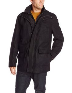 awesome Men's Walking Coat with Bib - For Sale