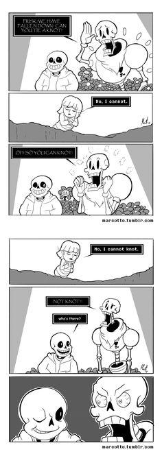 Sans, Papyrus, and Frisk - comic - Winnie the Pooh parody