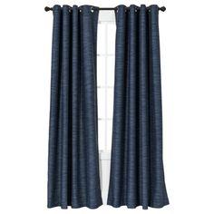 Threshold™ Uptown Stripe Light Block Window Panel - Target - $34.99/panel