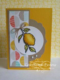 Carolina Evans - Stampin' Up! Demonstrator, Melbourne Australia: Sale-a-brate with A Happy Thing