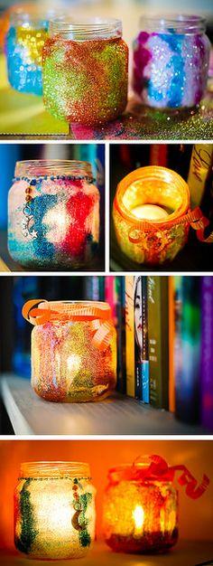 DIY Tutorial: Adorable Mini Glitter Jars