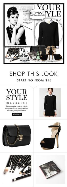 """""""romwe contest"""" by samirhabul ❤ liked on Polyvore featuring Pussycat and Ralph Lauren"""