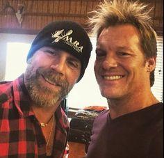 Shawn Michaels and Chris Jericho. Famous Wrestlers, Wwe Wrestlers, Wwe Shawn Michaels, The Heartbreak Kid, Ranger, Chris Jericho, Wrestling Superstars, Perfect Smile, Pop Culture