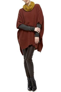 not quite ready for Fall 2012 but love this cozy outfit