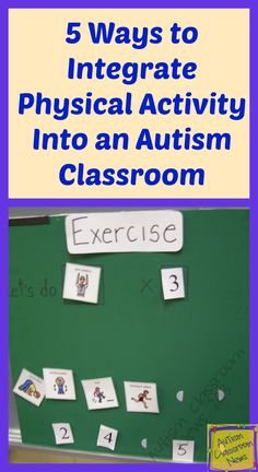 Pin #3 - Autism - Classroom News: 5 Ways to Integrate Physical Activity into an Autism Classroom - This is a great in pin because it a good resource for physical education teachers to integrate physical activity for their students who have autism. It is a very helpful guide for physical education teacher to try and use these strategies to help their students with autism participate in the physical activities.