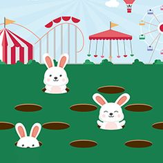 I got a score of 29 playing the 'Catch the bunnies' game on Childrensalon and Billieblush. See if you can beat me and you could win £500
